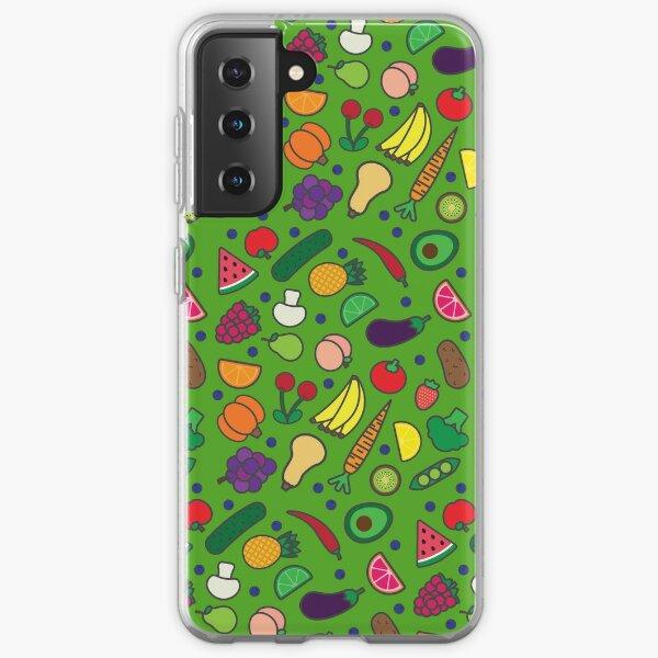 Fruits and Veggies! Samsung Galaxy Soft Case