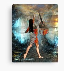 Guitar music from the soul Canvas Print