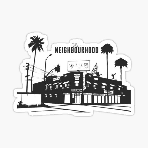 le quartier quartier Sticker