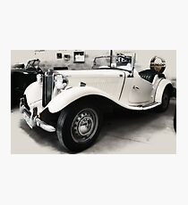 MG TD Mark ll  1952 Photographic Print