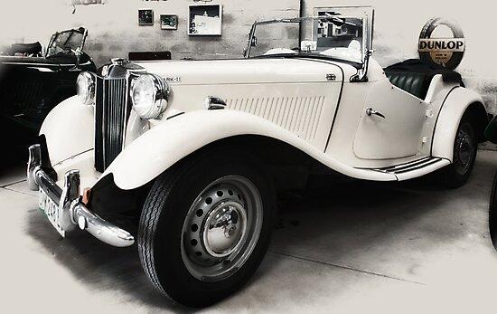 MG TD Mark ll  1952 by Warren. A. Williams