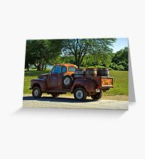 "1954 GMC Jack Daniels Pickup Truck ""Party Time"" Greeting Card"