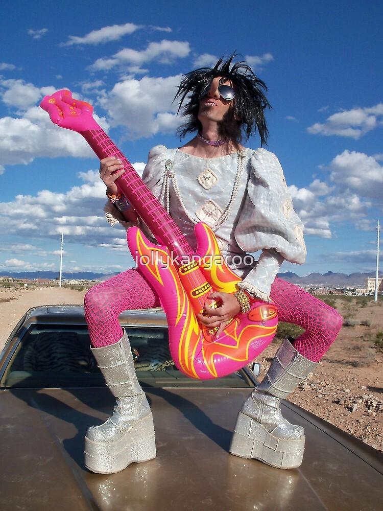 Rock Star Hero by jollykangaroo