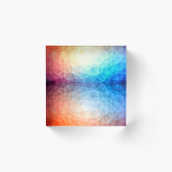 Exuberance Acrylic Block