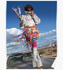 Astro Jugglernaut Poster