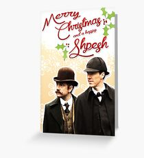 Sherlock Special Christmas Card Greeting Card