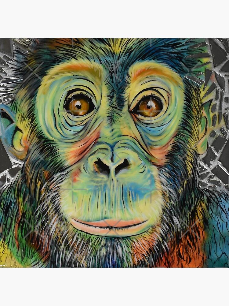 Monkey See Monkey Do by AtlArtVibez
