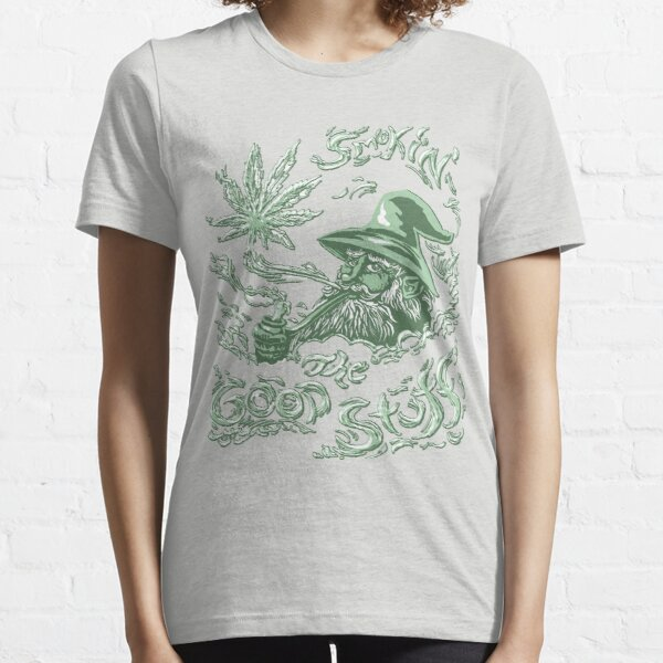 Wise Weed Wizard Essential T-Shirt