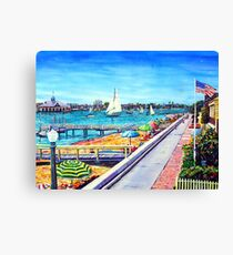 Balboa Island Newport Beach Ca. Canvas Print
