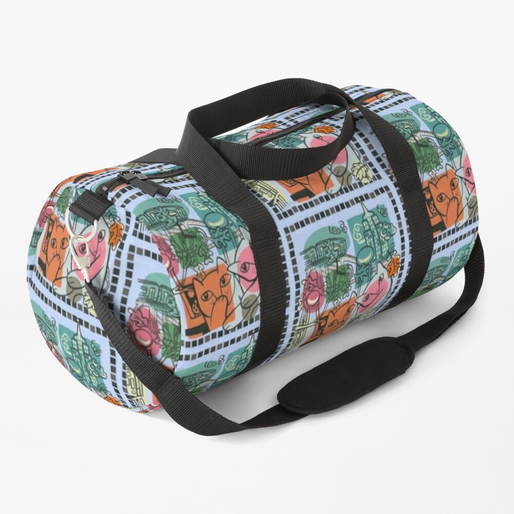 On the Town Duffle Bag