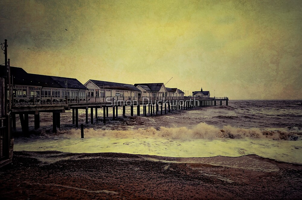 Southwold Pier Suffolk UK by Simon Duckworth