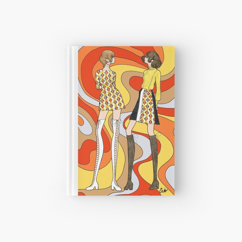 Dreamy Groove Hardcover Journal
