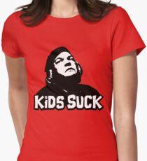 Kids Suck! Women's Fitted T-Shirt