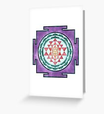 Sri Yantra 08 Greeting Card