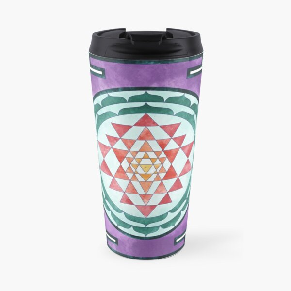 Sri Yantra 08 Travel Mug