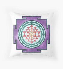 Sri Yantra 08 Throw Pillow