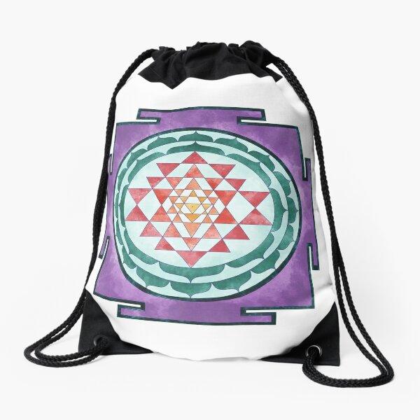 Sri Yantra 08 Drawstring Bag
