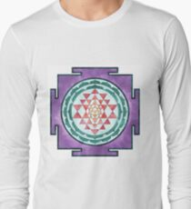 Sri Yantra 08 Long Sleeve T-Shirt