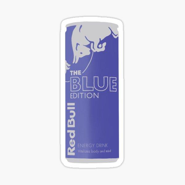 édition redbull can bleu Sticker