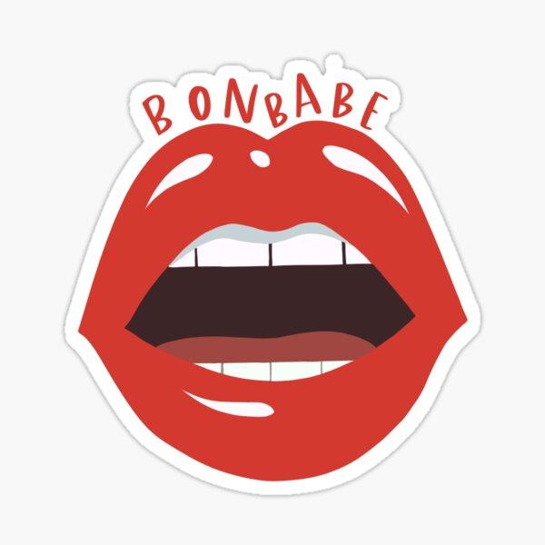 Bonbabe lips  Sticker