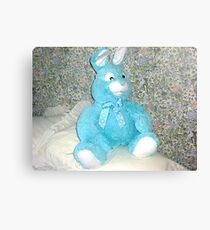 Blue Rabbit - Easter Gift Canvas Print