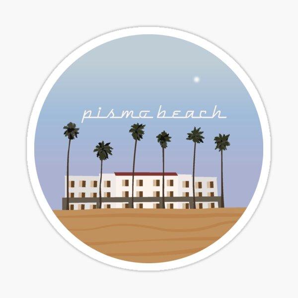 pismo beach Sticker