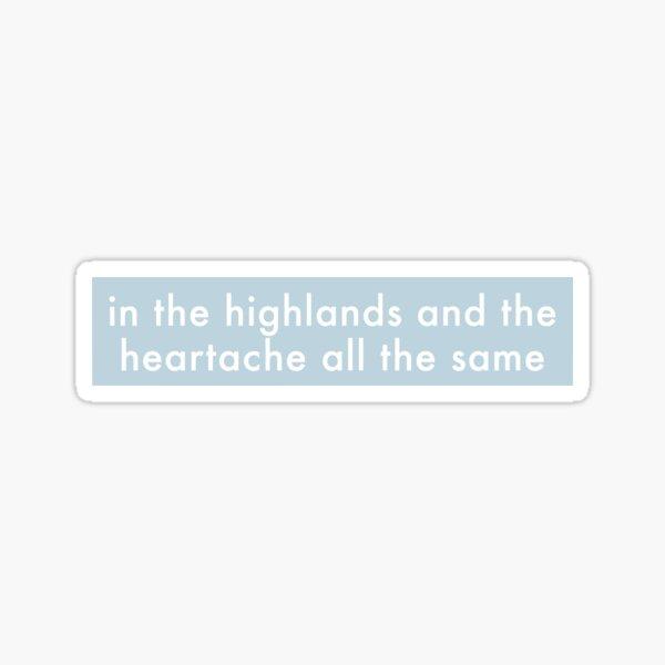 HIGHLANDS (song of ascent) Sticker