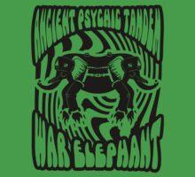 Ancient physic tandem war elephant | Unisex T-Shirt