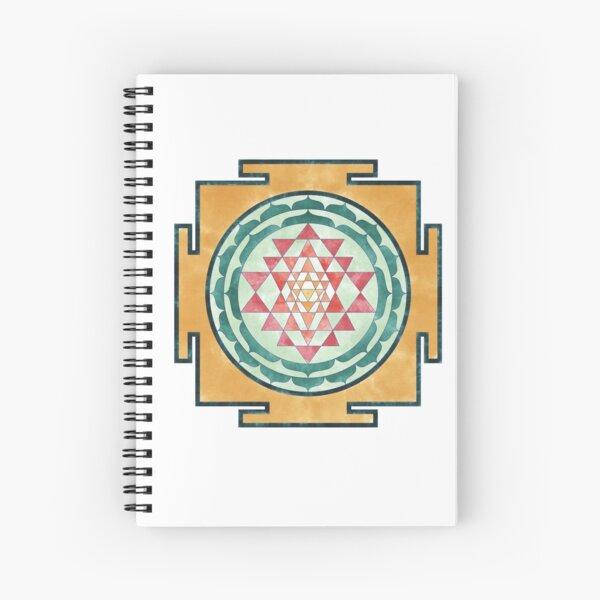 Sri Yantra 07 Spiral Notebook