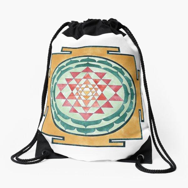 Sri Yantra 07 Drawstring Bag