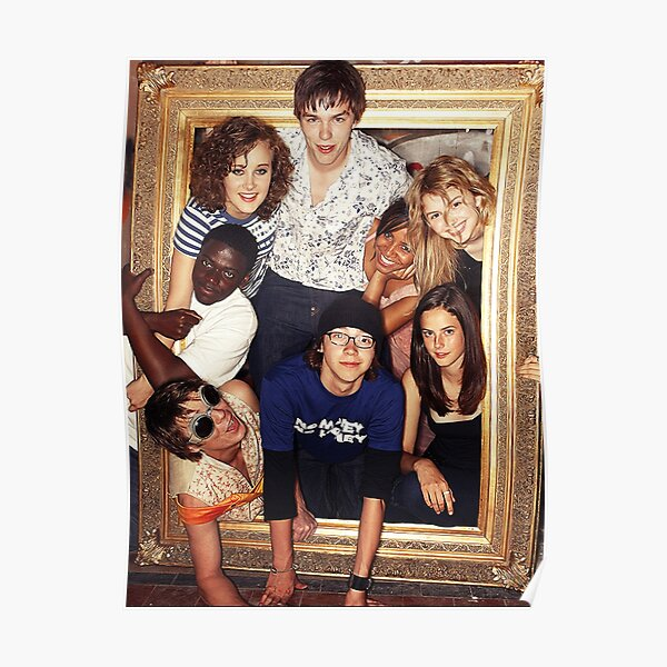 skins uk first generation Poster