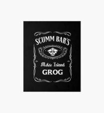 Scumm Bar's GROG Art Board