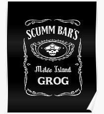 Scumm Bar's GROG Poster