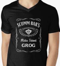 Scumm Bar's GROG Men's V-Neck T-Shirt