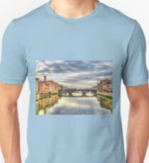Arno River Florence Italy Unisex T-Shirt