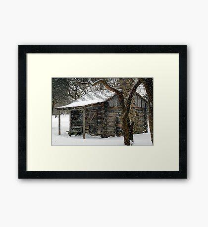 Winter Retreat © Framed Print