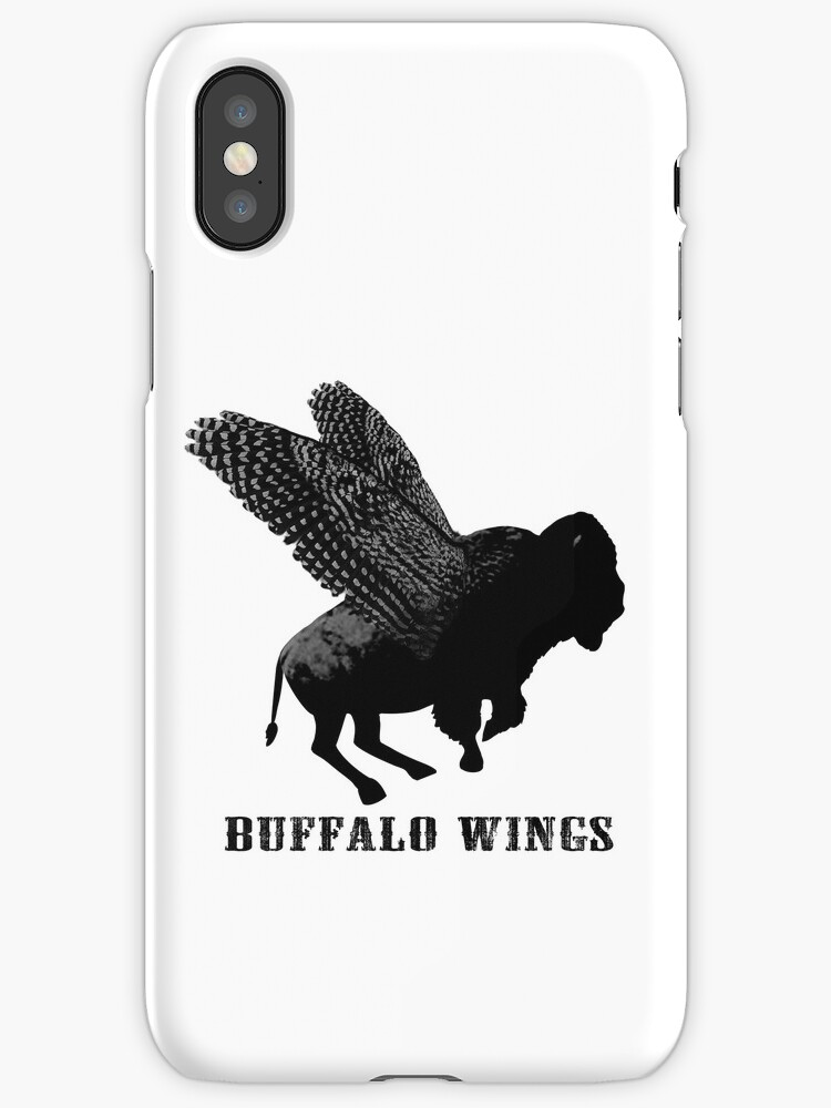 Buffalo Wings Flying Buffalo by RedPine
