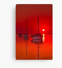 """Corio Morning Calm"" Canvas Print"
