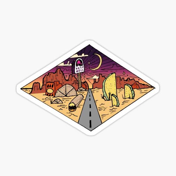 Taco Bell Scenery  Sticker
