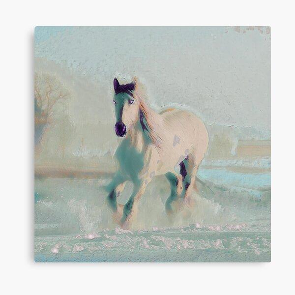 Snowhorse III Canvas Print