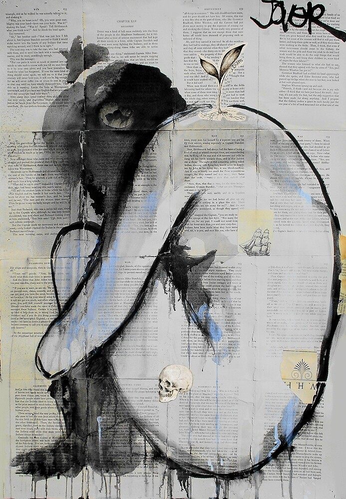 life,death,travel & discontent by Loui  Jover