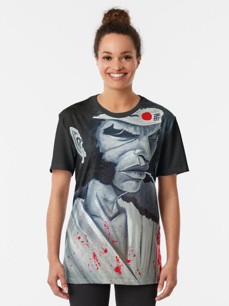 Alternate view of Afro Samurai Graphic T-Shirt