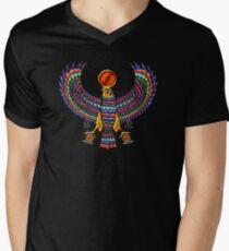 Ancient Egyptian God Horus (t-shirt) Men's V-Neck T-Shirt