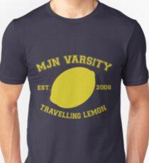 MJN Varsity- Travelling Lemon Slim Fit T-Shirt