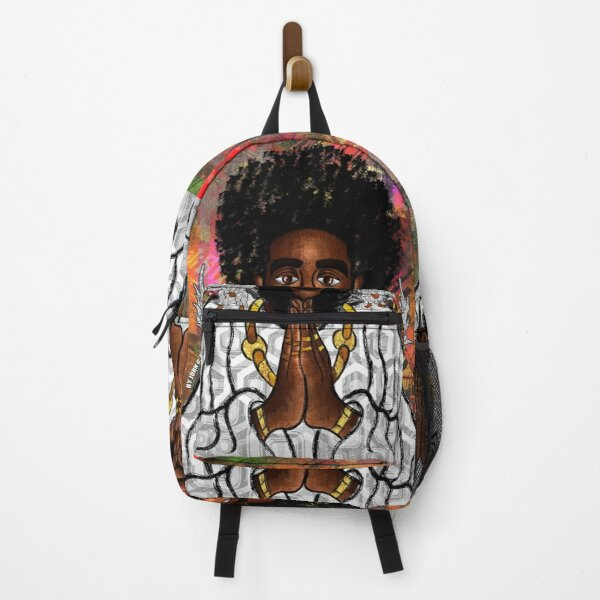 Black Jesus Backpack