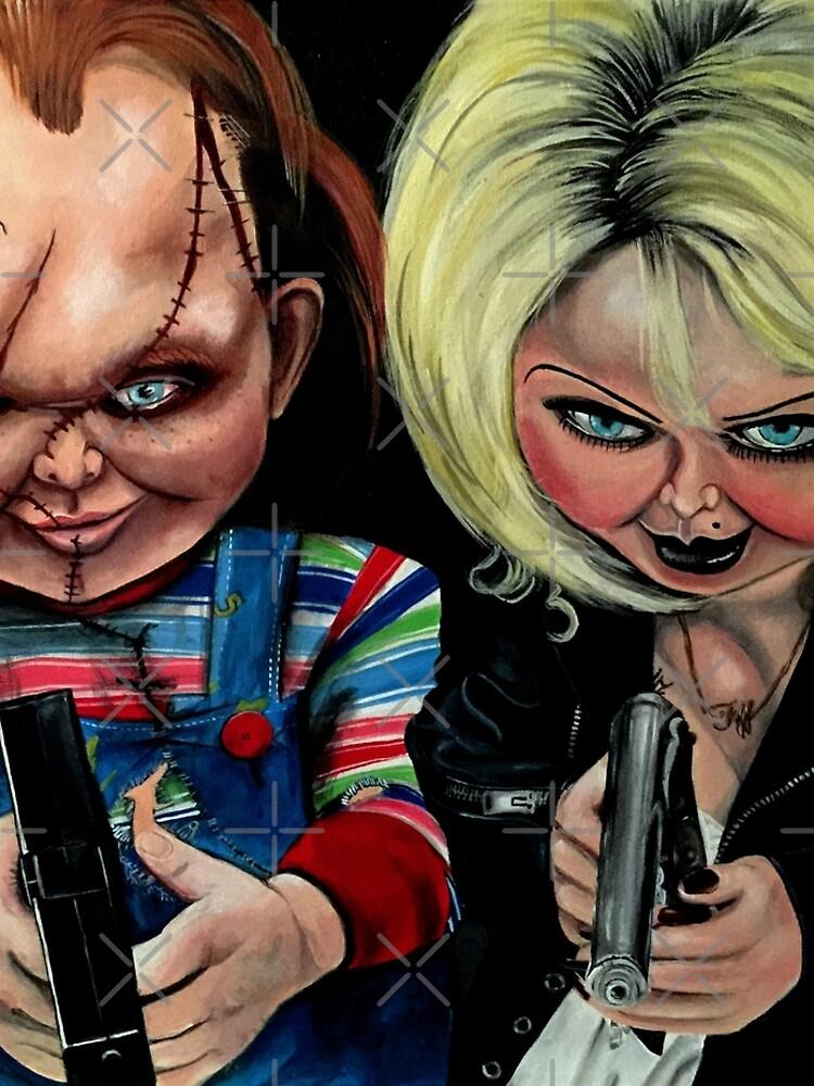 Chucky & Tiffany by AtlArtVibez