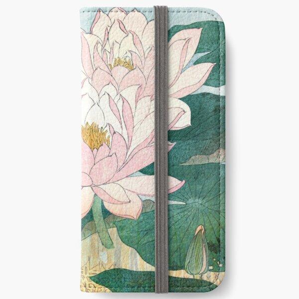 Sacred Lotus Flower iPhone Wallet