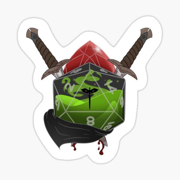 Rogue D20 Sticker