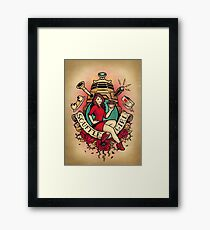 Souffle' Girl Framed Print