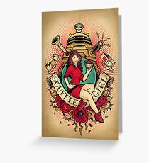 Souffle' Girl Greeting Card